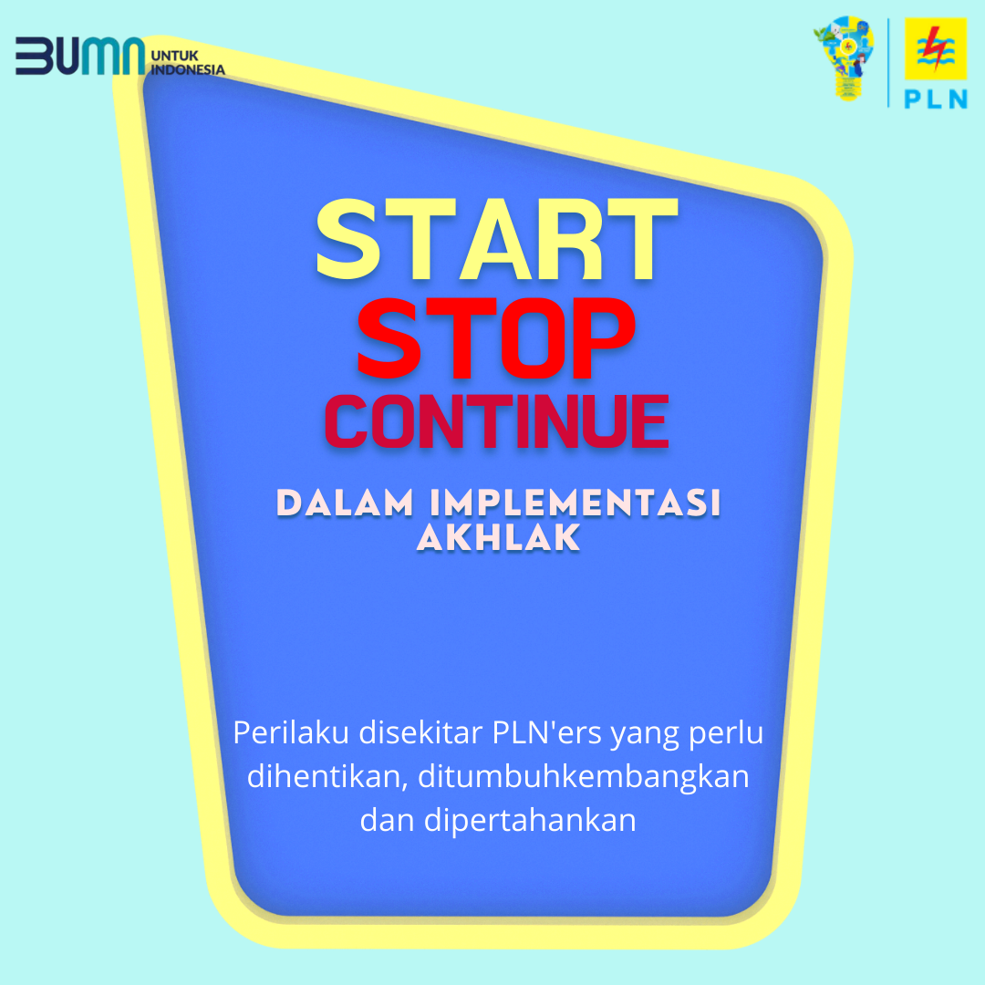 START STOP CONTINUE